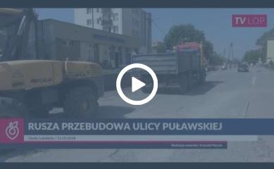 TV LOP // Rusza remont ulicy Puławskiej w Opolu Lubelskim